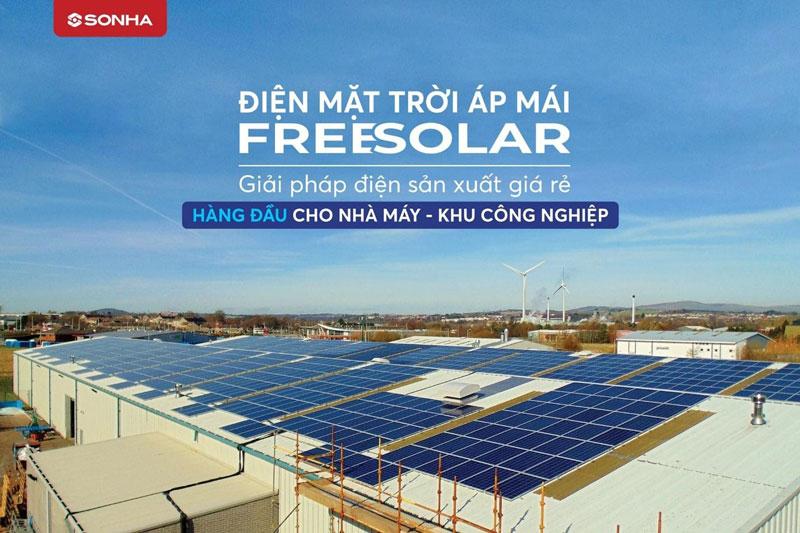 Freesolar: điện mặt trời cho doanh nghiệp
