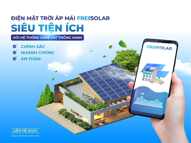 ứng dụng freesolar