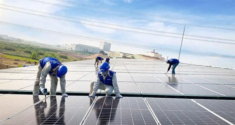 Điện mặt trời an toàn cho sức khỏe