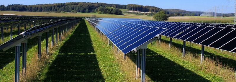 hệ thống điện mặt trời mặt đất