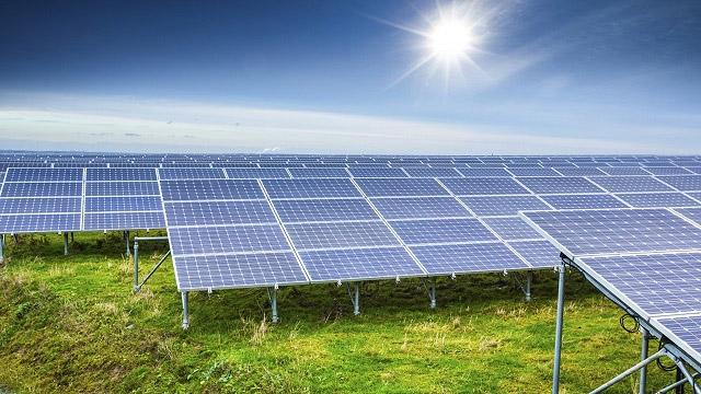 điện mặt trời mặt đất