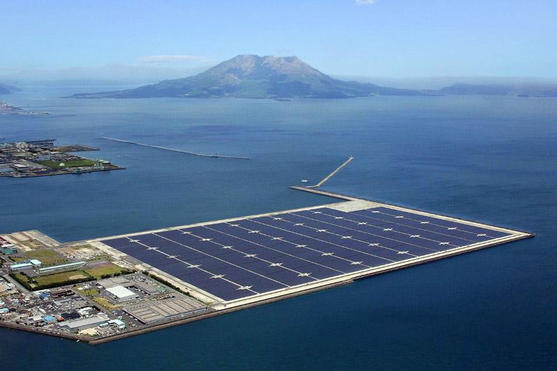 điện mặt trời nổi phù hợp với quy mô lớn