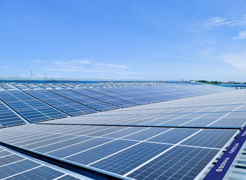 Dự án điện mặt trời áp mái Vinsmart