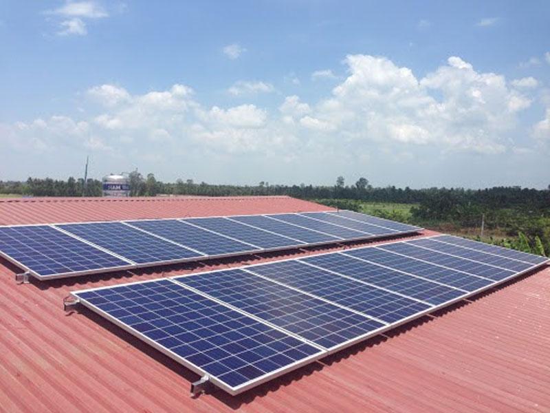 Pin điện mặt trời hòa lưới