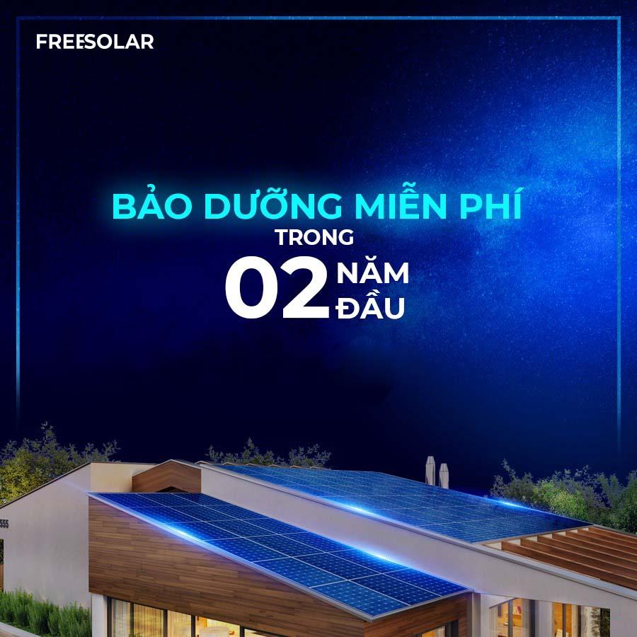 Chính sách bảo dưỡng của freesoalr