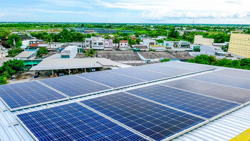 điện năng lượng mặt trời 3 pha cho doanh nghiệp