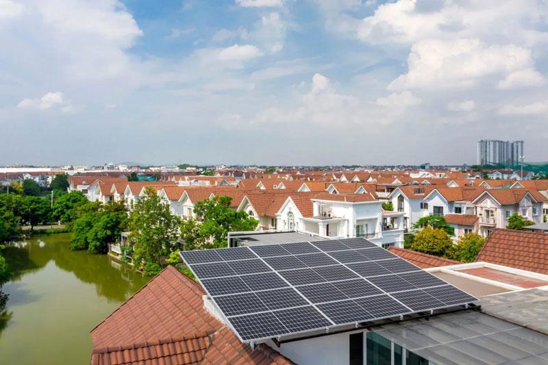 lắp đặt điện mặt trời nơi có nhiều nắng