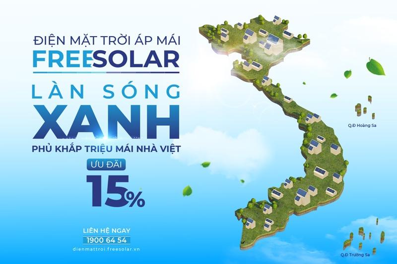 Freesolar lắp điện mặt trời uy tín toàn quốc