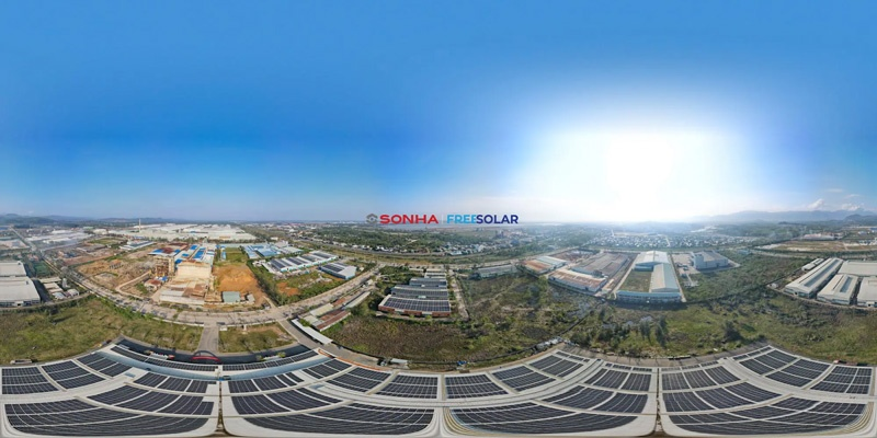Dự án điện mặt trời Freesolar