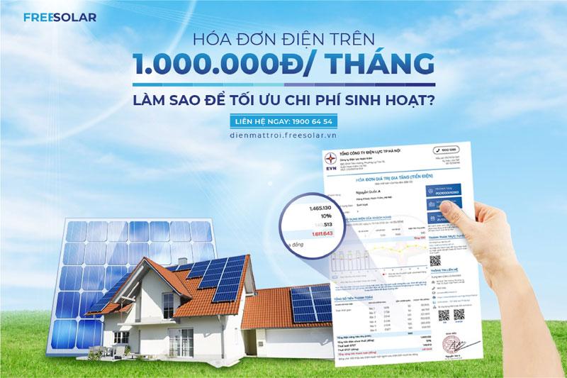 hộ gia đình nên lắp điện mặt trời 2021