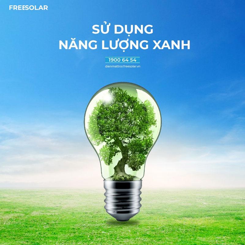 Inverter cùng với pin mặt trời góp phần tạo nên nguồn năng lượng xanh-sạch-đẹp