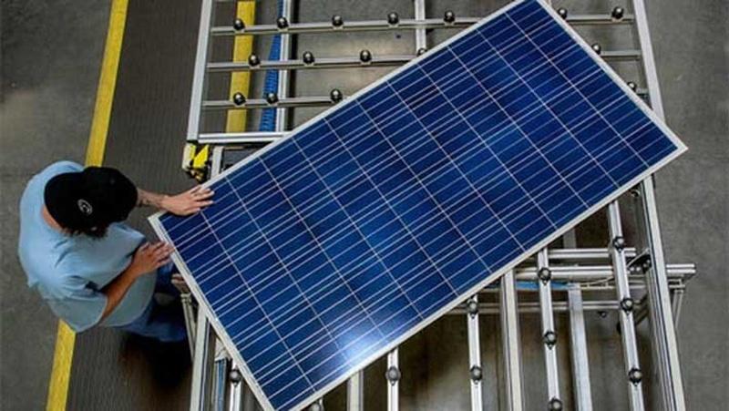 Nguyên liệu sản xuất pin  năng lượng mặt trời