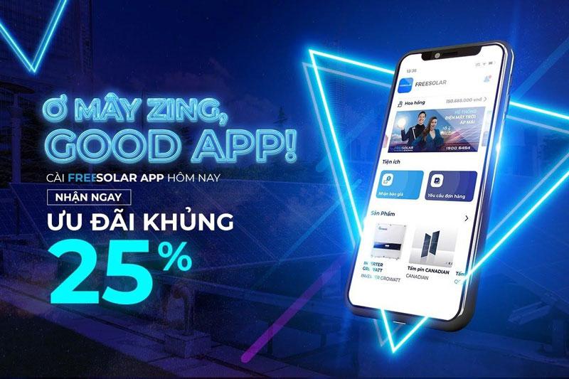 app điện mặt trời freesolar