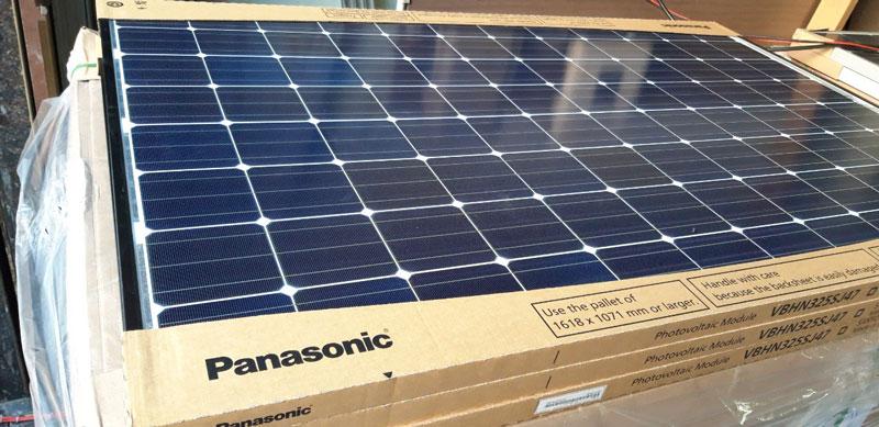 Tấm pin năng lượng mặt trời nhập khẩu phải có tem, mác