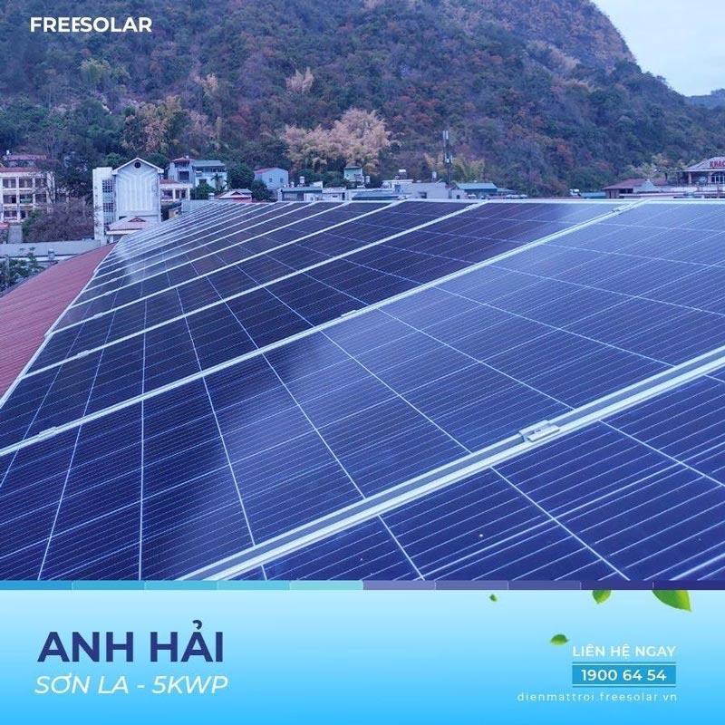 Hệ thống điện mặt trời 5kWp
