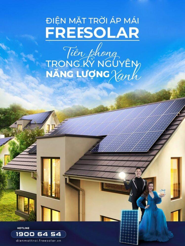 Pin năng lượng mặt trời nhập khẩu Freesolar