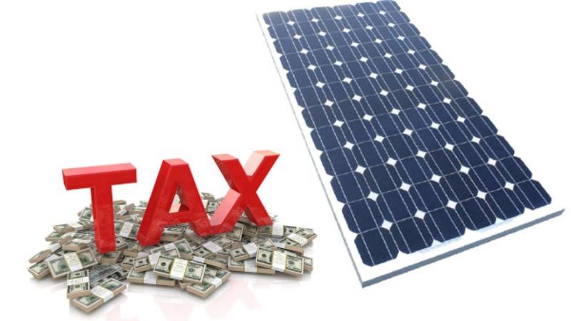 thuế nhập khẩu pin mặt trời